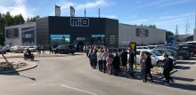 Succé när Mio öppnade i Luleå