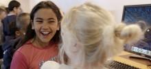Barn bygger framtidens Göteborg i Minecraft