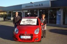 Suzuki Alto nr. 1 million solgt i Danmark