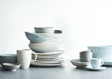 Rosenthal - new Junto colours Opal Green, Aquamarine and Alabaster
