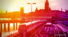 Sigma joins the biggest tech event for women in Stockholm