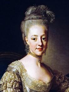 Lena Rangström berättar om prinsessbröllopet på Stockholms slott den 7 juli 1774