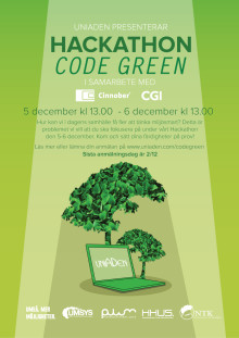 Hackathon med miljötänk