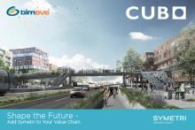 Cubo Arkitekter A/S har indgår samarbejdsaftale med Symetri om brugen af BIMeye i opførelsen af nyt gymnasium ved Viborg Station; Midtbyens Gymnasium.