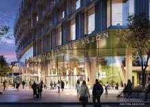 Trondheim boasts new, sustainable station