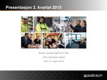 Presentasjon Q2 2015