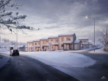 Myresjöhus säljstartar Brf Sliparegården i Bäckseda, Vetlanda