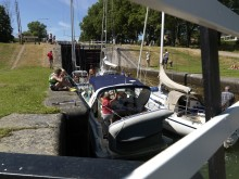 Göta kanalbolag utmanar bilden av en typsik slussvärd