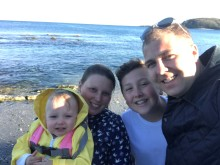Family take on Great Newham run for The Sick Children's Trust