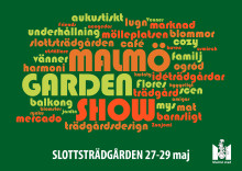 Malmö Garden Show - ny trädgårdsfestival i Slottsträdgården