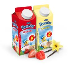 Nu lanseras Danonino Yoghurt med extra mycket vitamin D!     - för de 40% av alla barn i Sverige som har D-vitaminbrist