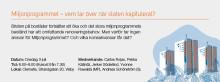 TMF i Almedalen 2013 - Frukostseminarium; Miljonprogrammet – vem tar över när staten kapitulerat?