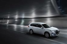 Mitsubishi Outlander PHEV, verdens mest solgte SUV Plug-in hybrid indtager Danmark