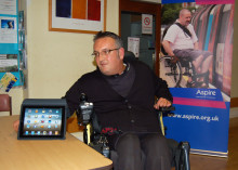 iPads and iPhones to feature in demonstration of assistive technology for people with spinal cord injury