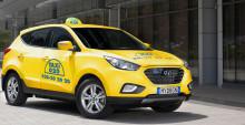 Taxi 020 köper tre bränslecellsbilar av Hyundai