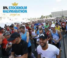 Halvmaran lockar 18 000 löpare till Stockholms gator