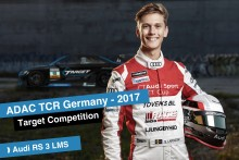 Simon Larsson drives ADAC TCR Germany 2017 with Target Competition and Audi RS 3 LMS