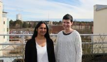 Hälsovetarstudenter gör examensjobb på asylboende
