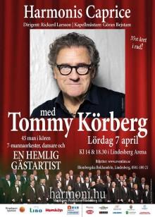 Tommy Körberg gästartist på Harmonis Caprice 2017