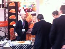 Välbesökt monter på matmässan IFE 2013 i London