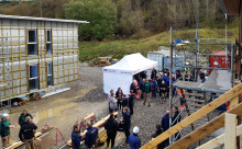 Rejsegilde på 44 almene boliger i Søparken