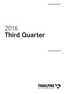 Nine Months Results 2016 – Consolidated Financial Statements