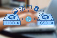 Wie wird eine Festplatte auf SSD in Windows 7/8/10 geklont