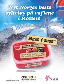 Stabburet leverer mat til Ski-VM