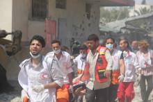 Bidra till humanitär hjälp i Gaza genom Röda Korsets akutinsamling