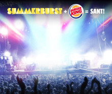 BURGER KING® + Summerburst = sant