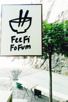 Premiär för Nudelbaren Fee Fi Fo Fum!