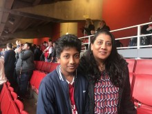 Walthamstow mother thanks the Stroke Association after her son had a stroke