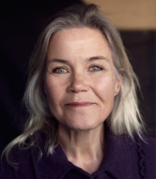 Maria Johansson disputerar