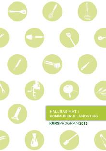 Kursprogram - hållbar mat i kommuner och landsting  2015