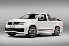 Volkswagen Amarok Power-Pickup wows Woerthersee crowds
