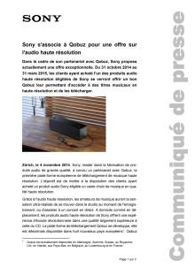 Communication de presse_Coopération Qobuz_F-CH_141104