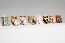 Delight for eyes and nose: Scented Candles by Rosenthal meets Versace