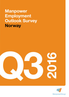 ManpowerGroup Outlook Survey for Norway Q3 2016