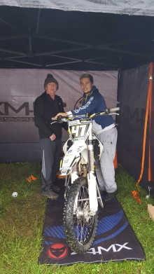 ​Cramlington motorcross racer organises charity race for dad