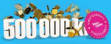 Vinstgaranti: Oskar vann 500 000 kr för andra gången