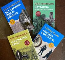 Historia för alla! Nya titlar i Historiska Medias populära bokserier i kortformat.