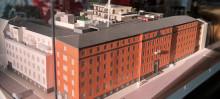 Bygget av Brf NEO Davidshall i Malmö går framåt