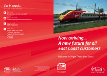 Virgin Trains East Coast Red Report - a special newsletter for customers
