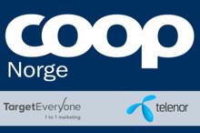 TargetEveryone og Telenor har signert avtale med Coop Norge