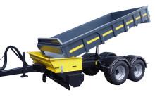 Multifunktionell vagn klarar dumperjobb, sandning och saltning