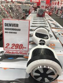 Endast godkända hoverboards hos MediaMarkt