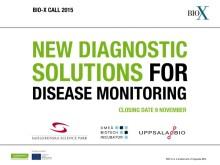 Fyra nya BIO-X projekt med patientfokus: Effektivare vård med smarta mätmetoder