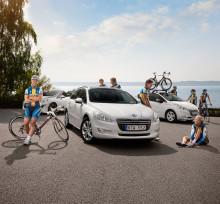 Peugeot cyklar vidare i årets Vätternrunda och visar nya crossovern 2008