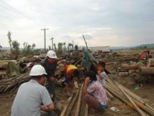 Tiotusentals hemlösa efter översvämningar i Nordkorea