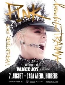 P!NK kommer til Horsens 7. august 2019!!